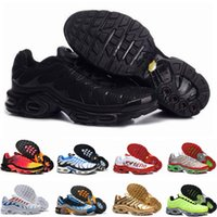 2020 Chaussures Nike air max Tn Nouveau Designer Mode Hommes Tns Chaussures Mesh respirant Tn Plus Chaussures de sport Baskets Chaussures Requin