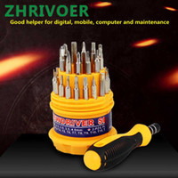 Wholesale phone disassembly for sale - Group buy Computer and mobile phone combination repair and disassembly tool screwdriver portable mini screwdriver screwdriver set gift
