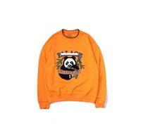 ingrosso panda felpa-Una felpa con cappuccio di lusso mens designer felpe con cappuccio di marca Panda maglione di cotone uomini donne pullover sport strada hip hop tendenza felpa