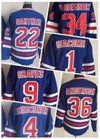 mes xl eishockey-tops großhandel-Rabatt Günstige New York Rangers Eishockey Trikot Shirts TOPS, Fan-Shop Online-Shop zum Verkauf Kleidung Trikots, heiße Herren Kleid Hockey tragen