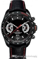 новые часы f1 оптовых-Новые высокие TAG мужские часы F1 Luxury Fashion Мужские военные часы Автоматические механические часы Relogio Monaco Спортивные наручные часы