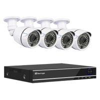 8ch cctv dvr оптовых-Techage XMeye 8CH 1080P AHD DVR 4 шт. комплект камеры безопасности системы видеонаблюдения 2 МП ночного видения AHD камеры видеонаблюдения набор 2 ТБ HDD
