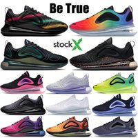 Wholesale designer snow shoes for sale - Group buy Be True running shoes Hot lava triple white volt black sunrise sunset throwback future womens mens designer shoes US