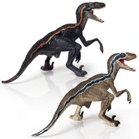 Wholesale world action resale online - Jurassic World Action Figure Velociraptor Toys Dinosaur Bruce Model Variation Raptor Solid Simulation Decoration yx F1