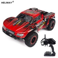 buggy auto kontrolle großhandel-Heliway Rc Car 1: 16 Geländewagen Hochgeschwindigkeits-Rock Rover Suv-Antriebsmotoren Ferngesteuertes ferngesteuertes Maschinen-Buggy-Auto