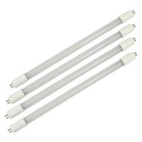 ingrosso tubo principale della lampada mini-T5 LED tubo fluorescente di luce della lampada del dispositivo della lampadina, G5 Mini Base, 85-265V, Ballast Bypass, Dual-end alimentato, LED Negozio, 50-Pack