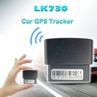 gps zaun großhandel-GPS-Fahrzeug-Tracker AGPS OBDII LK730 Echtzeit-Tracking-Gerät mit Stromausfall- / Überdrehzahlalarm Geo-Fence Power Saving