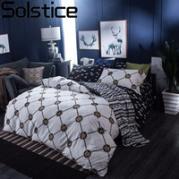 Wholesale tiger bedding king for sale - Solstice Animal Tiger Head Pattern Style Cotton Bedding Sets Duvet Cover Set Bedlinen Bed Sheets Pillowcase Queen Size