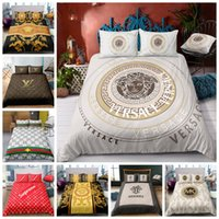 Wholesale luxury super king size bedding for sale - Group buy King Size Bedding Set Luxury Fashionable High End Duvet Cover Set Queen Twin Full Single Double Super Soft Bed Cover With Pillowcase