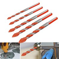 Wholesale hole cutting drill bit for sale - Group buy 7PCS Drill Bit Multifunctional Drill Bits Wall Ceramic Glass Punching Hole Working Set mm Cutting Diameter