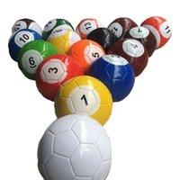 fußball spielen großhandel-Kreatives Billardspiel Fußball spielen Fußball Kinder Erwachsene Familie Spaß Unterhaltung Bälle Größe # 2 / # 3 / # 4 / # 5 Verfügbar