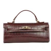 Wholesale wine women bags resale online - Wine red fashion colors mini shoulder bag woman bag Fashion blank and plain shoulder bag