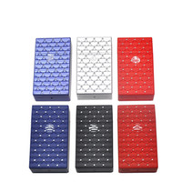 Wholesale innovative plastics for sale - Group buy Newest Colorful Plastic Mini Cigarette Case Storage Box Fish Scale Pattern Skin Innovative Design Protective Cover Shell High Quality DHL