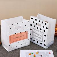 Wholesale polka dots plastic bag for sale - Group buy Multifunctional Handbag Cake Bread Bags Wiht Polka Dot Fashion Dessert Baking Takeaway Packing Bag Plastic Bag