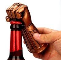 bira şişesi açacağı bar toptan satış-Yumruk Bira Şişe Açacağı Eldiven Şeklinde Şişe Açacağı Yemeği Parti Bar Şişe Açacakları Mutfak Aracı Için LJJK1165