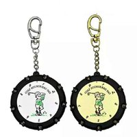 Wholesale chain counter online - Round Golf Score Indicator Count Holes High Quality Counters Small Portable Creative Simple Fashion Key Chain xxD1