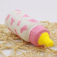 iyi şişeler toptan satış-İyi bebek oyuncak Squishy Biberon Squishy Yükselen Sıkmak Yumuşak Streç Kokulu Çocuk Oyuncakları t143