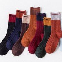 оригинальные ножки оптовых-W0018 Crosspointer Оригинал Старого Split Joint Color Long канистра голень высокого качества новой мода носки Женщина