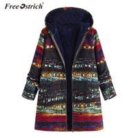 Las de cremallera Abrigos el avestruz Coats Mujer Elegantes más 2019 Bolsillos tamaño de De de chaqueta Invierno la mujeres la de Invierno libre 4jL35RcAq