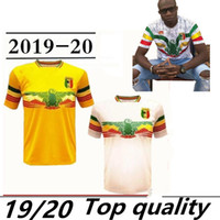 желтые футбольные команды оптовых-2019 2020 Сборная Мали Футбольные Jerseys Custom Любое имя Любое число Home Yellow Away White Concept 19 20 Футболка Джерси Униформа