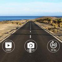 сенсорный экран для приборной панели автомобиля оптовых-IPS 4-дюймовый автомобильный видеорегистратор приборной панели камеры вождения рекордер с сенсорным экраном G-Sensor Motion Detection Loop Recording
