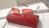 óculos óculos designer óculos para homens venda por atacado-Homens Mulheres Moda No quadro de designer de marca Rimless Óculos Plain Optical Óculos Miopia Óculos Oculos quadro