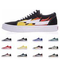 Wholesale summer canvas art resale online - Revenge X Storm Vans Old Skool Pop up Store Athentic Canvas Mens Designer Sports Running Shoes for Men Sneakers Women Casual Trainers