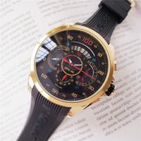 marcas suizas relojes deportivos al por mayor-La mejor calidad de la marca suiza para hombres. Tendencia de reloj. Señoras F1 bar. Gran esfera de goma. Movimiento mecánico.