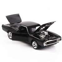 Wholesale dodge toys for sale - Group buy 1 Diecasts Toy Vehicles The Fast And The Furious Dodge Car Model With Sound light Collection Car Toys For Boy Children Gift J190525