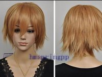 ingrosso bionde sexy calde-Parrucca LL HOT Free lady Nuove parrucche bionde naturali con capelli naturali da donna