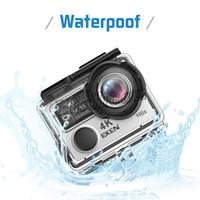 Wholesale waterproof video camera hdmi resale online - Hot Selling Original EKEN H6S Sport Camera G Remote EIS Ultra K WiFi P HD LCD D HDMI Waterproof Actiom Video