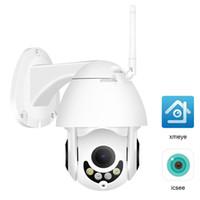 Wholesale ir ptz mini dome camera online - 1080P MP Super Mini PTZ Speed Dome Wireless IP Camera WiFi P CCTV IR m Onvif Outdoor Security Camera Two Way Audio IMX307