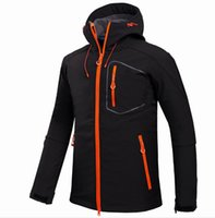 Wholesale gore tex xcr jacket resale online - Outdoor Jackets men s outdoor camping leisure sports jacket soft shell jacket windbreaker mountaineering suit