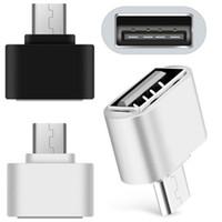 usb otg kabel großhandel-Micro USB zu USB Android Roboterform für OTG-Adapter für Smartphone, Micro-OTG-Kabel, Micro-OTG-Adapter