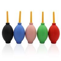 keyboard balls بالجملة-نفخ الهواء تهب الهواء المطاط الكرة الأنظف ضربة قوية الكرة الجافة للأجهزة الإلكترونية تنظيف تطعيم الرموش مصنع جاف نظيفة