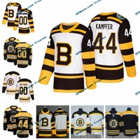 jersey de invierno bruins al por mayor-2019 Winter Classic Boston Bruins Steven Kampfer Mens Stitched Jerseys Personalizar Inicio Camisas negras 44 Steven Kampfer Hockey Jerseys S-XXXL