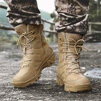 ingrosso i migliori stivali di caviglia di vendita-Stivaletti per stivali moda uomo Anti-Skid Desert Outdoor Tactical antiscivolo Best selling 40