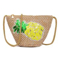 ingrosso sacchetti di paillettes lavorati a maglia-Borse a tracolla per le donne