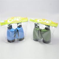jouets scientifiques verts achat en gros de-Enfants Télescope En Plein Air Exploration Scientifique Binocle Bleu Vert Puzzle Jouet Pour Enfants HD View Boy Vente Chaude 2nn D1