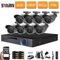Wholesale 8channel dvr camera kit for sale - Group buy Security Camera System Channel DVR Kit Video Surveillance Outdoor Waterproof AHD P MP Camera Set CH CCTV DVR System