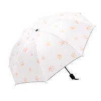 2019 New Wind Resistant Folding Umbrella Men Women Luxury Romantic Cherry blossoms Big Windproof Umbrellas Black Coating 8Ribs Parasol