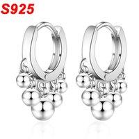ohrringe schleifen großhandel-2019 S925 Silber Gold Creole Ohrringe Mini Huggies Hoop Ohr Ring einfache kleine runde Kreis Ohrringe Loops Frau Jewerly SE013