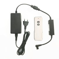 Wholesale remote linear actuator for sale - Group buy Wireless Remote Control Powered Motorized Monitor Camera Lift Column Linear Actuator Motor Up Down V A Power Adapter Transformer Box
