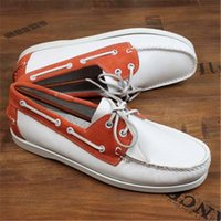 Wholesale casual handmade leather driving shoes moccasins for sale - Group buy Men Genuine Leather Slip on Moccasins Handmade Man Casual Shoes Drive Walk Luxury Leisure Shoes Men Summer D50