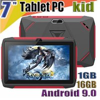 Wholesale FREE DHL kid Tablet PC Q98 Quad Core Inch HD screen Android AllWinner A50 GB RAM GB Q8 with Bluetooth wifi factory wholesa
