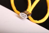 cores do bracelete do macrame venda por atacado-2019, Fashion love Charm Bracelets Vermelho Cordas Artesanais Macrame Rope Bangles. Muitas cores ! Pulseira mulher homem jóias