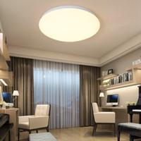 led-bewegungssensor deckenleuchten großhandel-Ultra Thin Motion Sensor LED Deckenleuchte Leuchte Moderne Lampe Wohnzimmer Schlafzimmer Küche Oberflächenmontage Fernbedienung