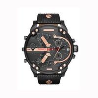 cuarzo brasil al por mayor-2019 Venta caliente Relojes Big Dail 50 MM Relojes para hombre Relojes de pulsera de cuarzo para hombres de negocios de estilo brasileño americano