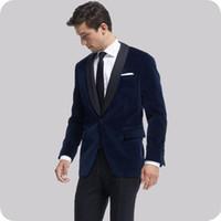 ingrosso uomini di cappotto harris tweed-New Cool nero smoking dello sposo degli uomini Wedding Tailcoat sposo vestito Best Men vestito a coda di rondine Coat (Jacket + Pants + vest)