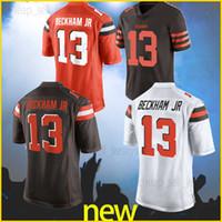 Wholesale 21 american football for sale - Group buy Odell Beckham Jr Denzel Cleveland Jerseys Brown Baker Jarvis Nick Jarvis Landry American football jerseys